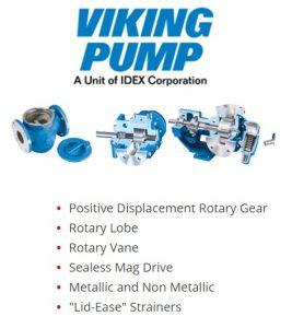 Pye-Barker is Georgia's Viking Pump main distributor.